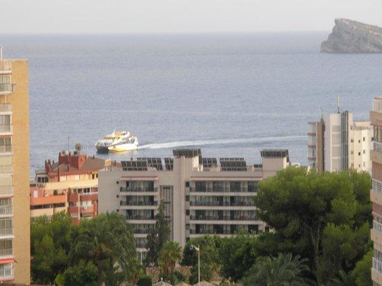 Cabana Hotel: View off Balcony