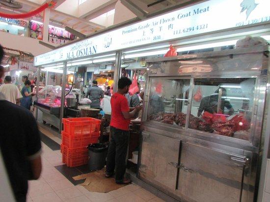 Tekka Centre: Fresh Goat Meat