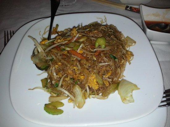 Shanghai : Linguine di soia con verdure