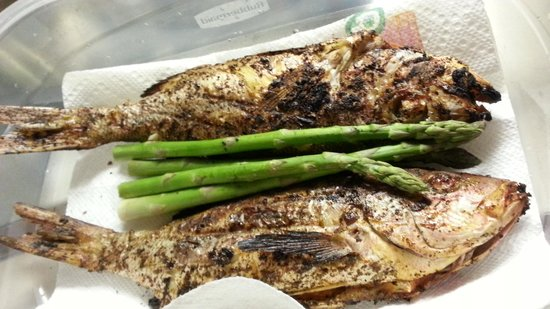 Parrot Nest : grilled fish