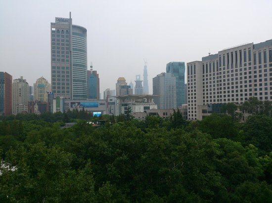 Kathleen's 5 : View from terrace overlooking People's Park