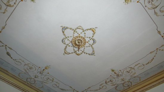 Hotel Vittorio Veneto : ceiling