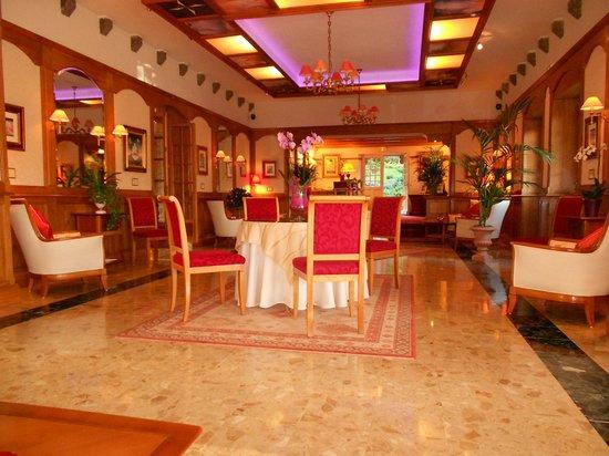 Chateau-Hotel Manoir de Kertalg : Salon