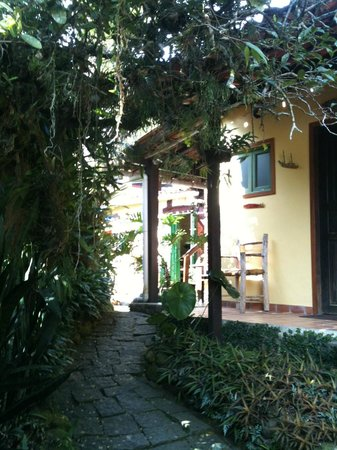 Pousada Cachoeira: hotel areal