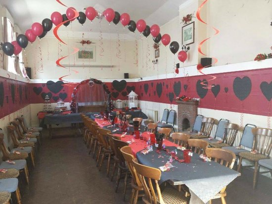 The Skittle Alley transformed beautifully!