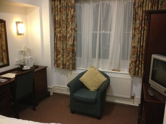 North Stafford Hotel: room quite good really
