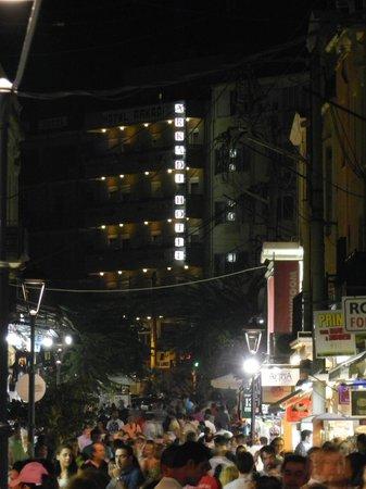 Arkadi Hotel: from the street