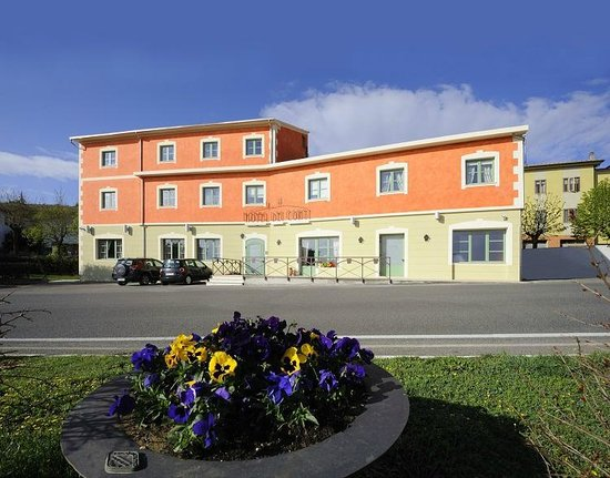 Hotel dei Conti - La facciata