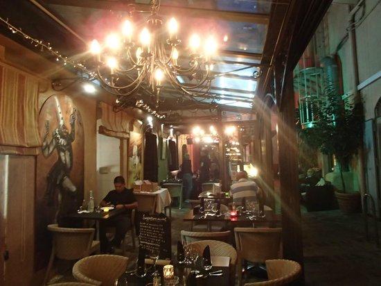 Restaurant Don Quichotte : la terrasse