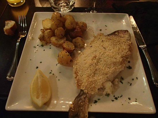 Restaurant Don Quichotte : la dorade en croute de sel