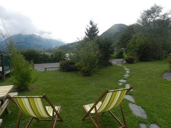 Camping Azun Nature : Vue imprenable sur la montagne