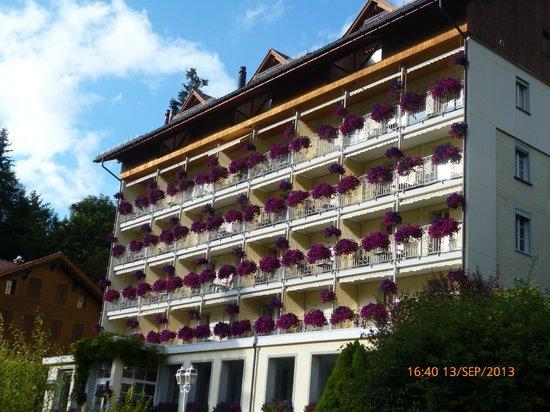 Front view of Hotel Wengener Hof
