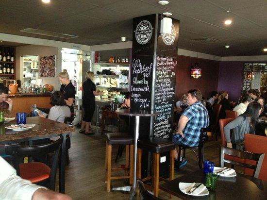 Rustico Tapas & Bar: Interior looking towards the kitchen with Specials Board