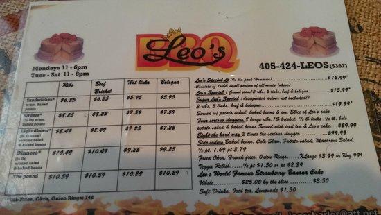 Leo's Bar-B-Q The Original