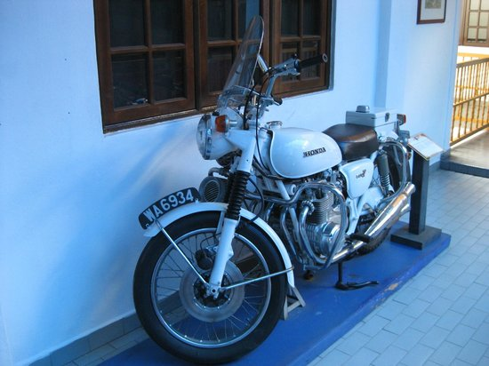 Royal Malaysia Police Museum : Retired Police Bike
