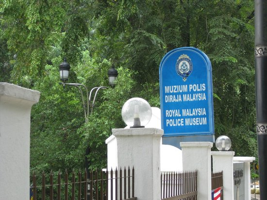 Royal Malaysia Police Museum : Look for this Sign