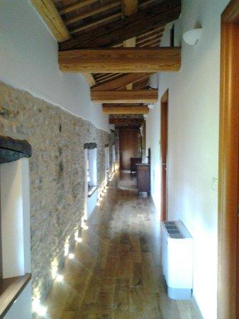 Pradamano, Italy: Il corridoio delle camere
