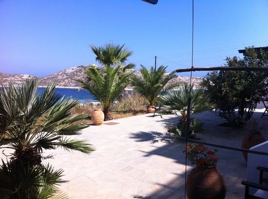 Agios Pavlos Studios: view from the room