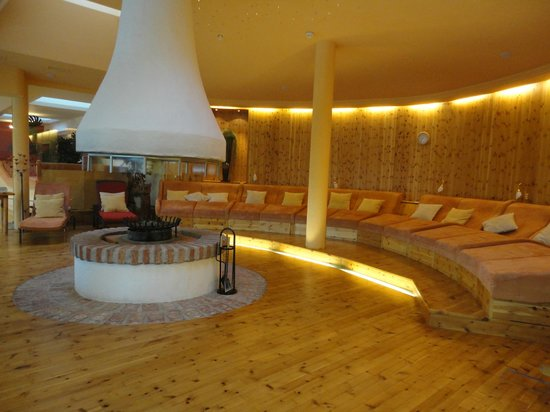 Hotel Hochschober: One of the many relaxation rooms in the spa