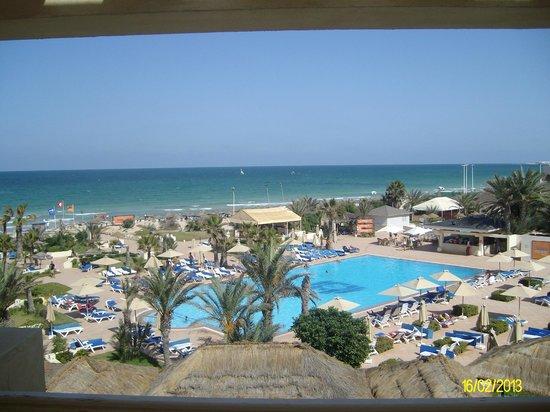 Djerba Mare: panorama dalla camera