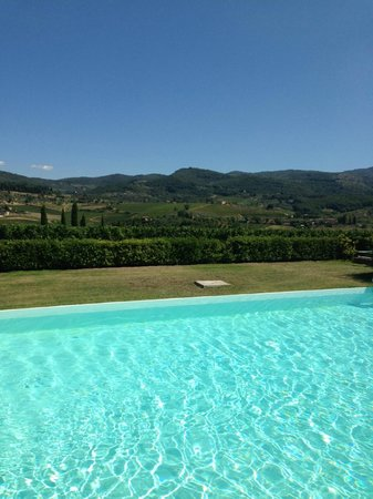 Fattoria Viticcio: View from Pool