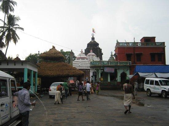 ปูรี, อินเดีย: Sakshigopal Temple Front