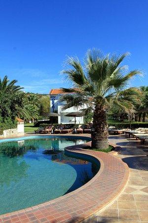 Ostria Hotel & Apartments: Pool View