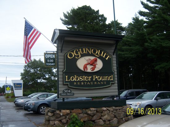 Ogunquit Lobster Pound Restaurant : Ogunquit Lobster Pound