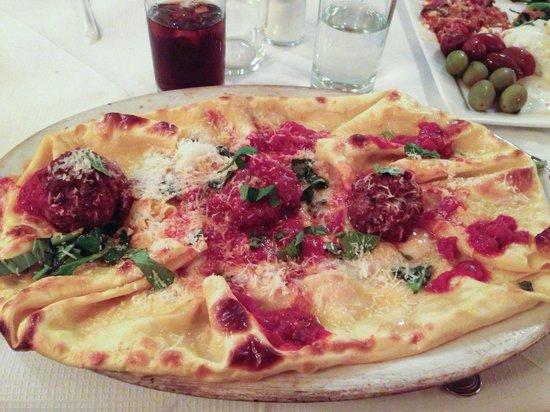 Bond 45 Italian Kitchen & Bar: Lasagna from Bond 45