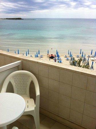Hotel Blu: panorama dalla nostra camera. Mozzafiato a tutte le ore!
