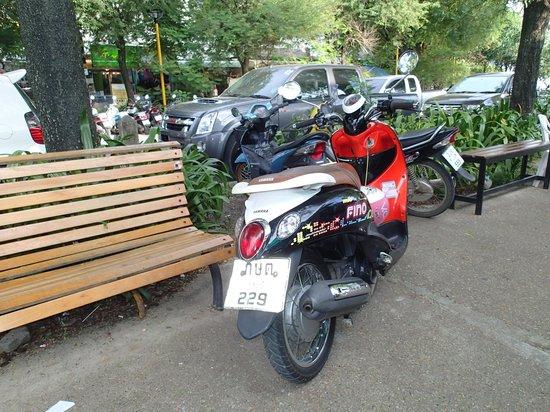 Krabi Aquamarine Resort : We love this bike....