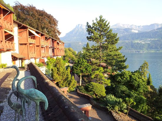 Paradies Hotel Rotschuo: Zimmertrakt