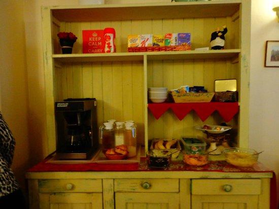 Pickwick's Guest House: Breakfast Area