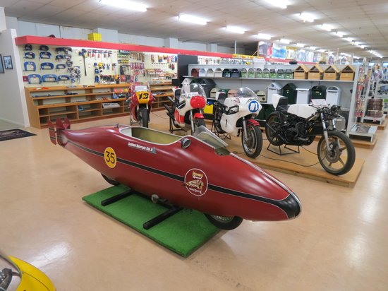 E Hayes and Sons - The World's Fastest Indian: just like the movie !