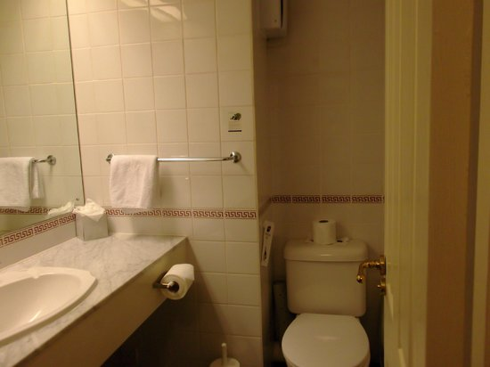 Best Western Bristol North The Gables Hotel : part of the bathroom we had in our room