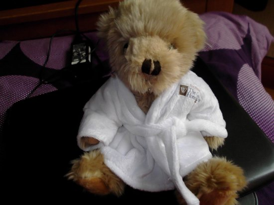 Best Western Bristol North The Gables Hotel: The teddy we bought from the Gables hotel for 6 pound