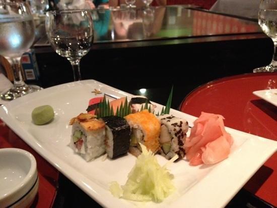 Iberostar Tucan Hotel : entrée sushi resto japonais