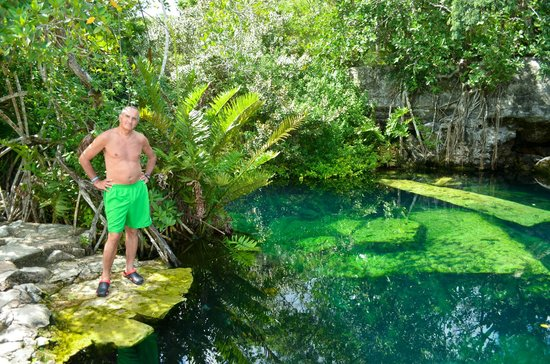 Cenote Crystal: al rededores del cenote