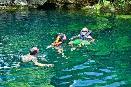 Cenote Crystal: el agua cristalina