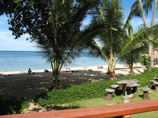 Promtsuk Buri: View from Beachfront Bungalow