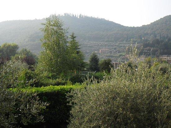 Hotel Palme & Suite: Uitzicht vanaf mijn balkon