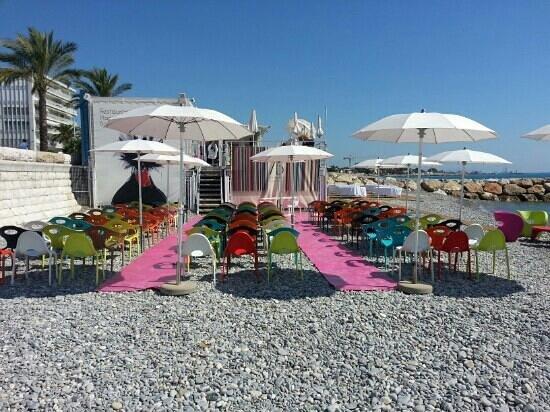 Art Beach: cérémonie de mariage