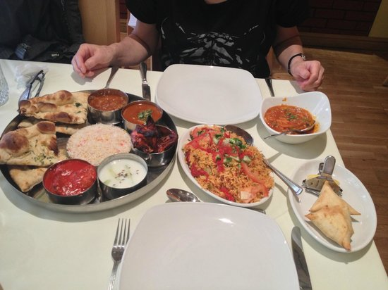 Ajanta: lunch