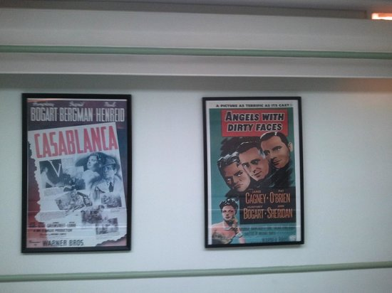 Hollywood Celebrity Hotel: Movie posters
