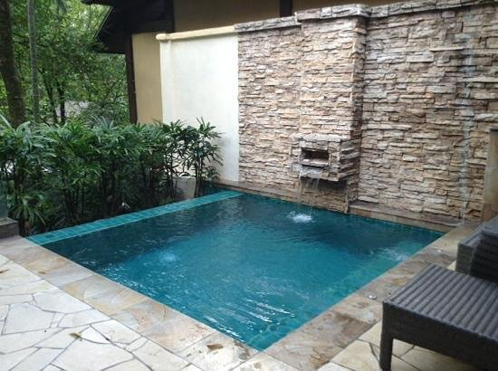 The Villas at Sunway Resort Hotel & Spa: A private infinity pool