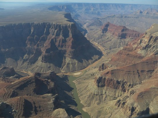 Scenic Airlines: Vlucht over Grand Canyon