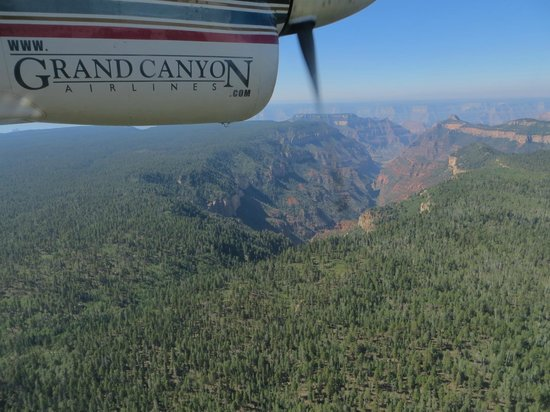 Scenic Airlines : Vlucht over Grand Canyon