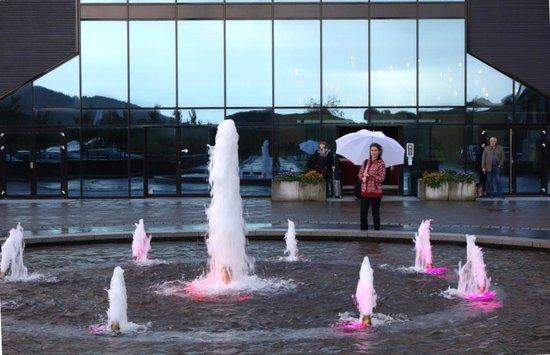 Panorama Hotell & Resort: Фонтан у входа
