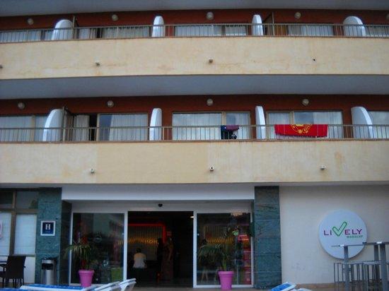 Lively Magaluf Hotel: Отель