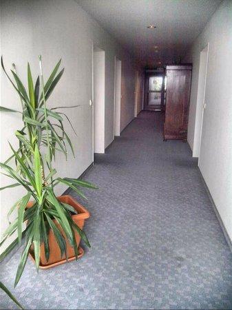 Hotel Mecklenheide: corridor